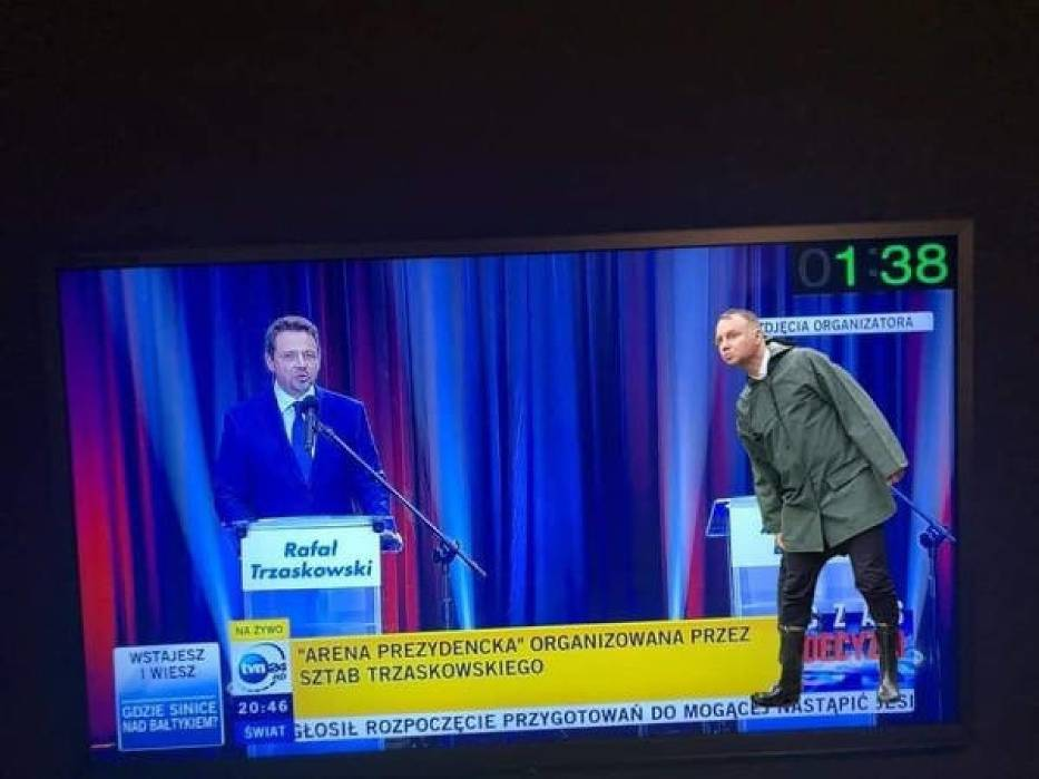 Wybory 2020: Duda vs