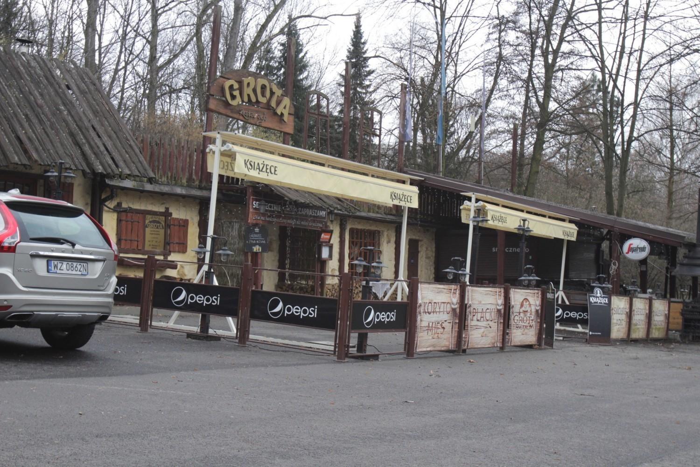 Nieliczne lokale na terenie Parku Śląskiego