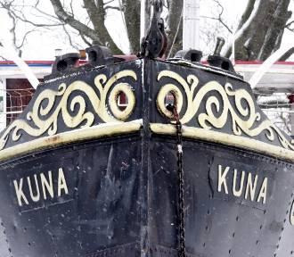 Port w Gorzowie. Zapraszamy na spacer! Właśnie tutaj zimuje lodołamacz Kuna