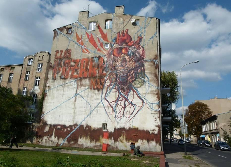 Najciekawsze Murale Lodz Naszemiasto Pl