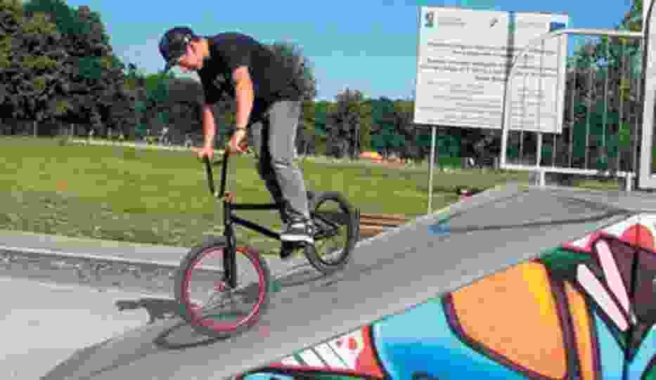 Bytomski skatepark cieszy się dużą popularnością