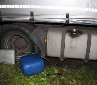 Złodziej włamał się do zbiornika paliwa ciężarówki. Grozi mu 15 lat