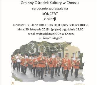 Orkiestra Dęta przy GOK w Choczu świętuje 30-lecie