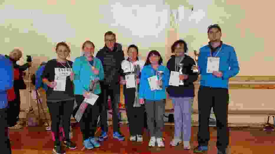 Wszyscy zawodnicy sekcji Nordic Walking LCk przywieźli z Chrzanowa medale