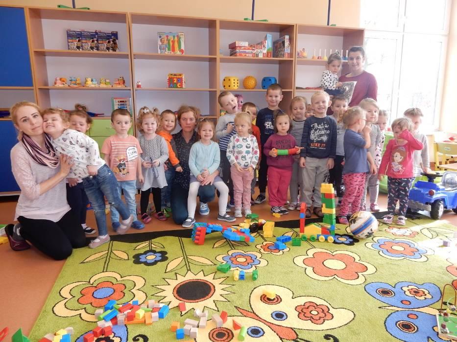 Maluchy z nowego przedszkola w Czempiniu