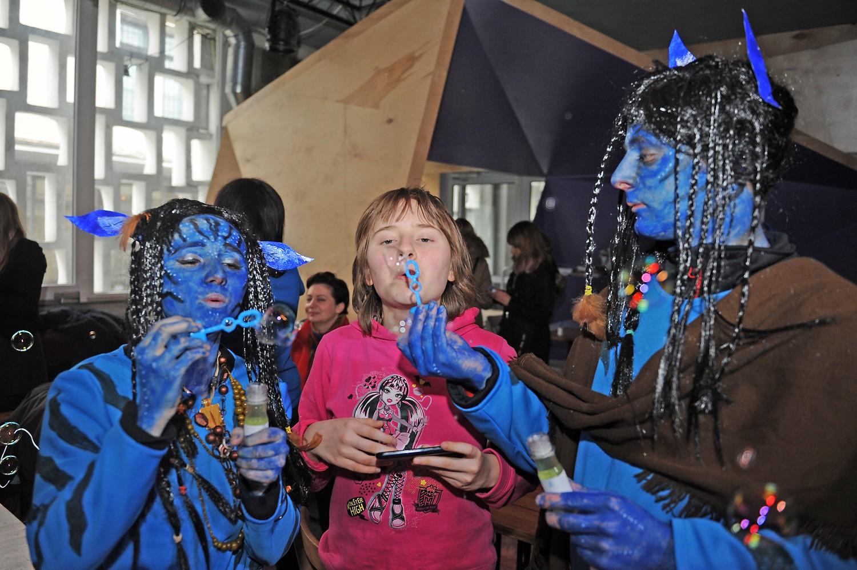 Dzieci z autyzmem kochają bańki! Druga edycja akcji w Meskalinie