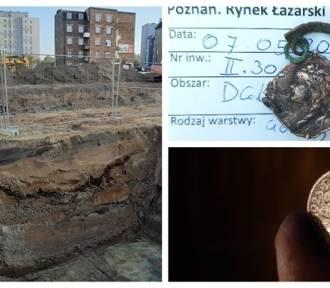 Na rozkopanym rynku Łazarskim znajdują skarby przeszłości