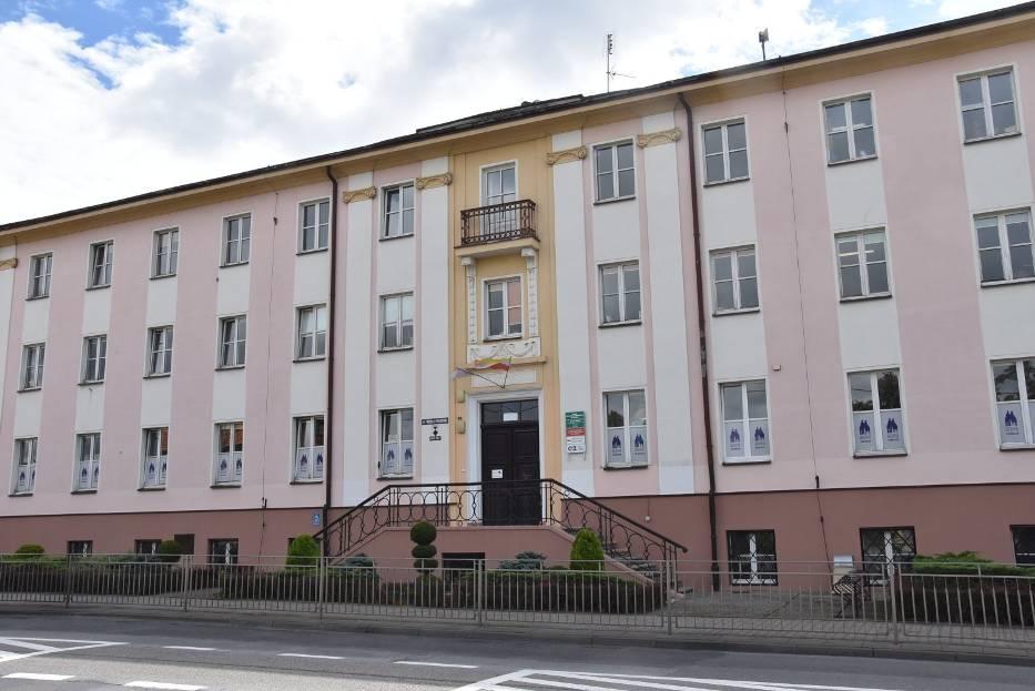 Budynek Powiatowego Urzędu Pracy w Oleśnicy