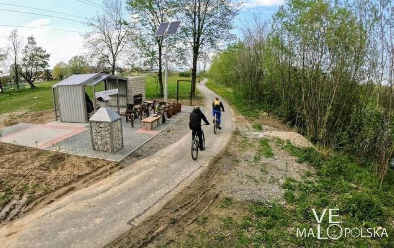 Wycieczka rowerowa na trasie VeloDunajec na odcinku Łącko - Nowy SączTa trasa nie jest wymagająca i spokojnie można zabrać ze sobą dzieci
