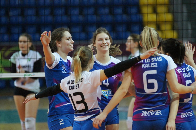 Siatkarki MUKS Amber Kalisz walczą o utrzymanie w II lidze. #Volley Wrocław pokonany!