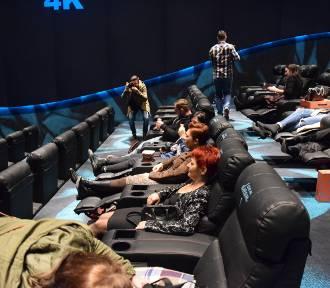 Kino Helios w Galerii Libero w Katowicach. 8 sal i 1100 miejsc - w tym sale Dream ze skórzanymi fotelami