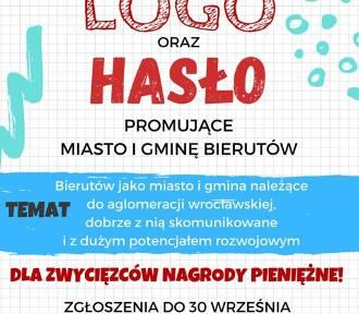Zaprojektuj logo i hasło dla Bierutowa
