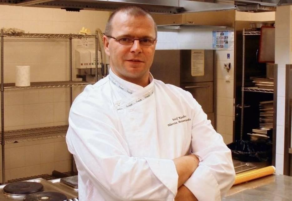 Szef kuchni Marcin Antoniewski przygotował menu, które zadowoli najwybredniejszych smakoszy