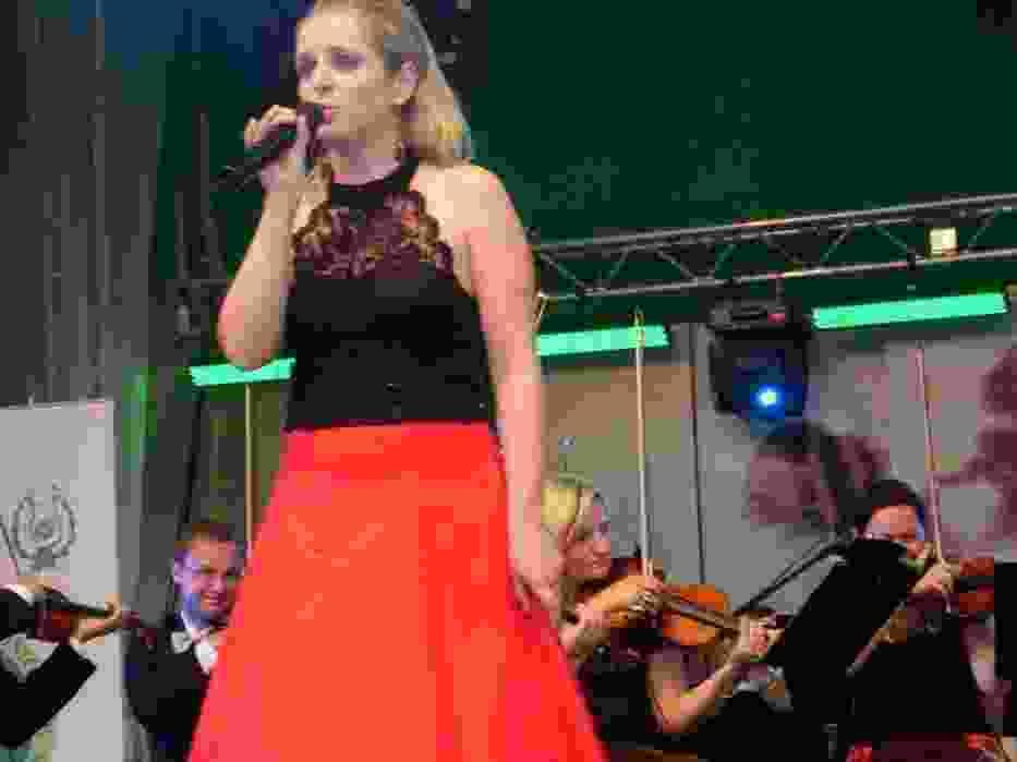 Ewa Lewandowska na koncercie recitalowym Impresji Artystycznych Ciechocinek 2008