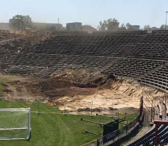 Wiemy, co saperzy znaleźli podczas rozbiórki stadionu Pogoni Szczecin