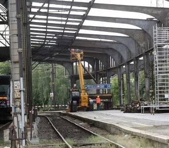 Remont dworca w Legnicy, peron 5 zamknięty dla podróżnych [ZDJĘCIA]