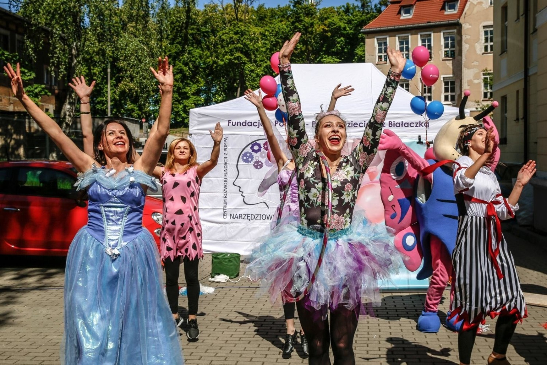 Artyści z Just Dance wystąpili dla małych pacjentów UCK w Gdańsku