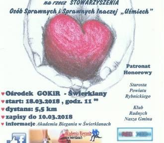 """II Bieg Charytatywny """"Z sercem na dłoni"""" w marcu w Świerklanach - trwają zapisy!"""