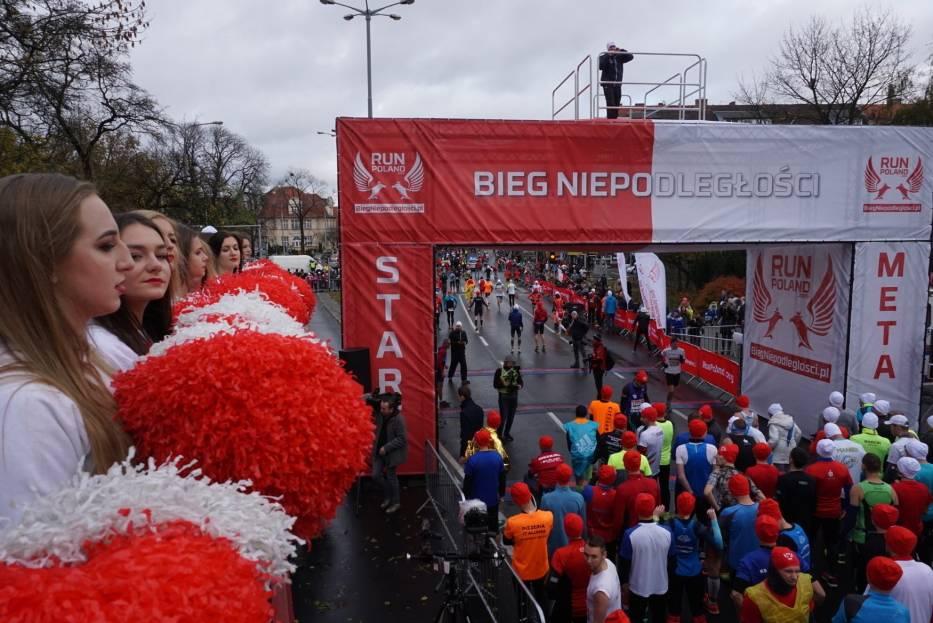 11 listopada: Bieg Niepodległości w Poznaniu Zobacz zdjęcia