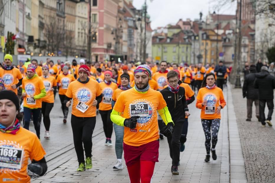 Bieg Policz się z cukrzycą 2020. Zdjęcia z biegu. 5000 uczestników na dzień przed 28. finałem WOŚP [ZDJĘCIA]