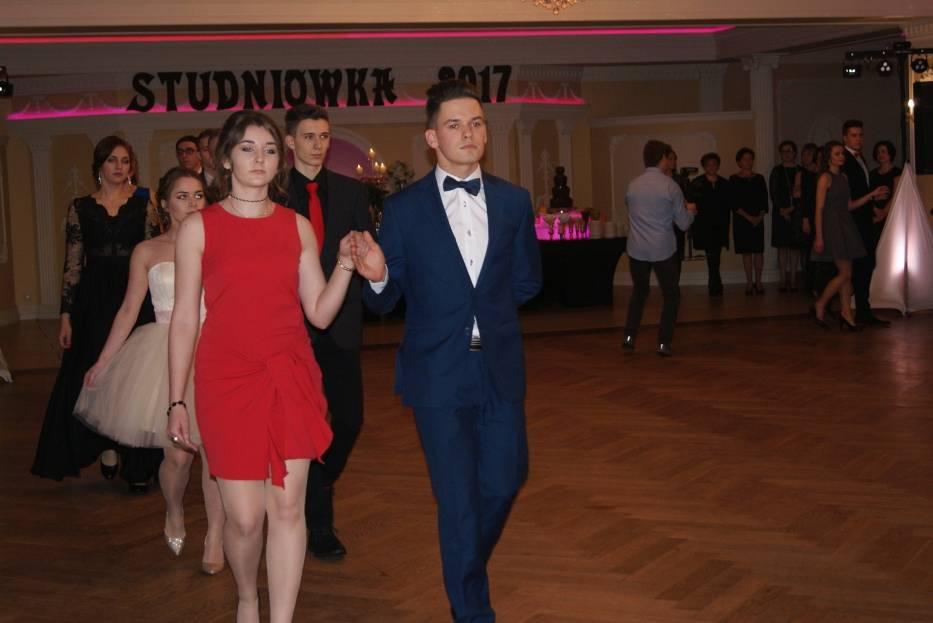 Studniówka 2017  uczniów III LO w Pszczynie
