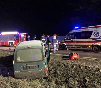 Fatalny wypadek na obwodnicy Nowego Tomyśla [NOWE ZDJĘCIA]