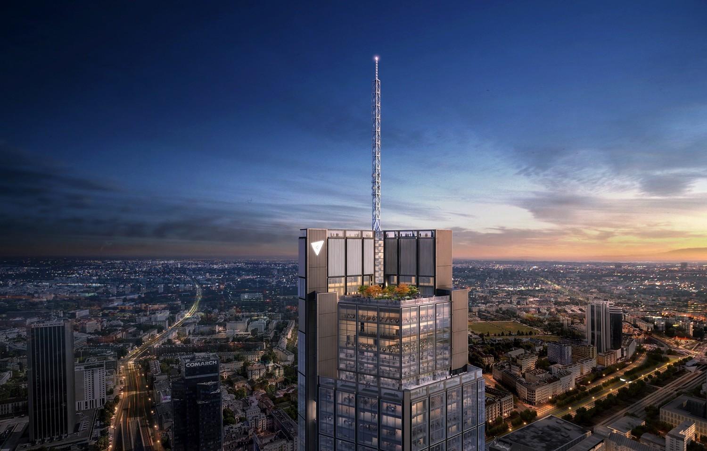 Varso. Tak będzie wyglądał najwyższy wieżowiec w Polsce. Mamy nowe wizualizacje [ZDJĘCIA]
