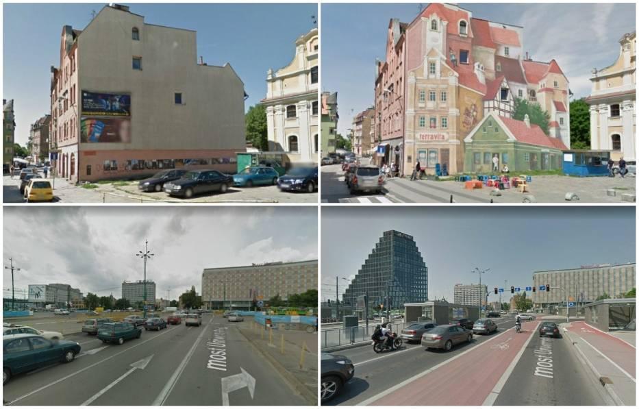 Narzędziem, które pozwala sprawdzić, jak zmieniły się konkretne miejsce jest Google Street View
