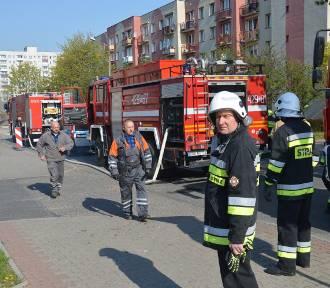 Uwaga! Rozszczelnienie gazociągu na ulicy Morcinka w Głogowie!