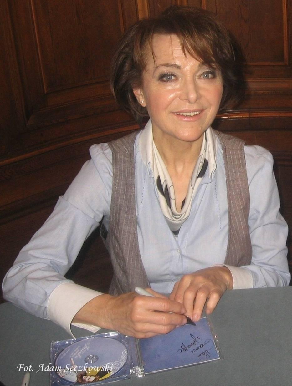 Irena Jarocka po recitalu w Muzeum Miasta Łodzi