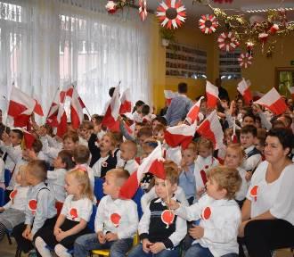 Szkoła w Tychnowach świętowała 100. rocznicę polskiej niepodległości