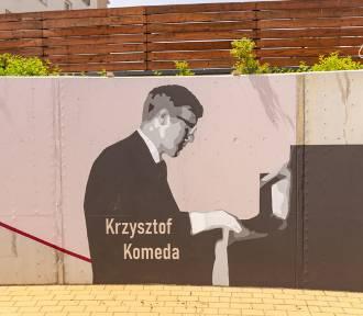 Wrocław. Nowy mural na Jagodnie. Upamiętnił wybitnego muzyka. Zobacz zdjęcia