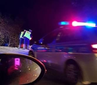 Wypadek w Tarnowskich Górach: Na DK 11 przewrócił się TiR i zatarasował przejazd