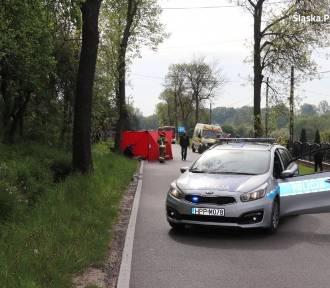 Śmiertelne potrącenie pieszej w Osieku w powiecie myszkowskim