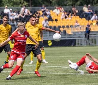 Cztery gole Wieczystej Kraków w sparingu z I-ligowcem