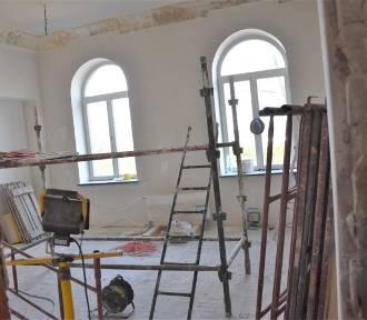 Zabytkowy pałacyk w Sławnie w remoncie ZDJĘCIA, WIDEO