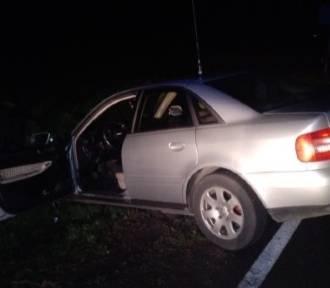 Wypadek w Karniewie. Ucierpiała jedna osoba