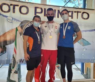 Bartosz Smaruj wraca do Chodzieży ze złotym medalem Mistrzostw Europy Mastersów