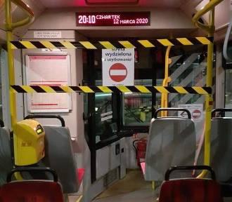 Zakaz podchodzenia do kierowcy. Strefa wydzielona w autobusach. ZTM wprowadza dodatkowe zabezpieczenia