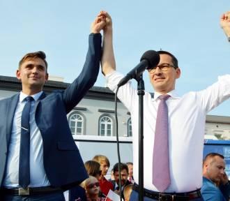 Premier RP Mateusz Morawiecki w Łowiczu [Zdjęcia]