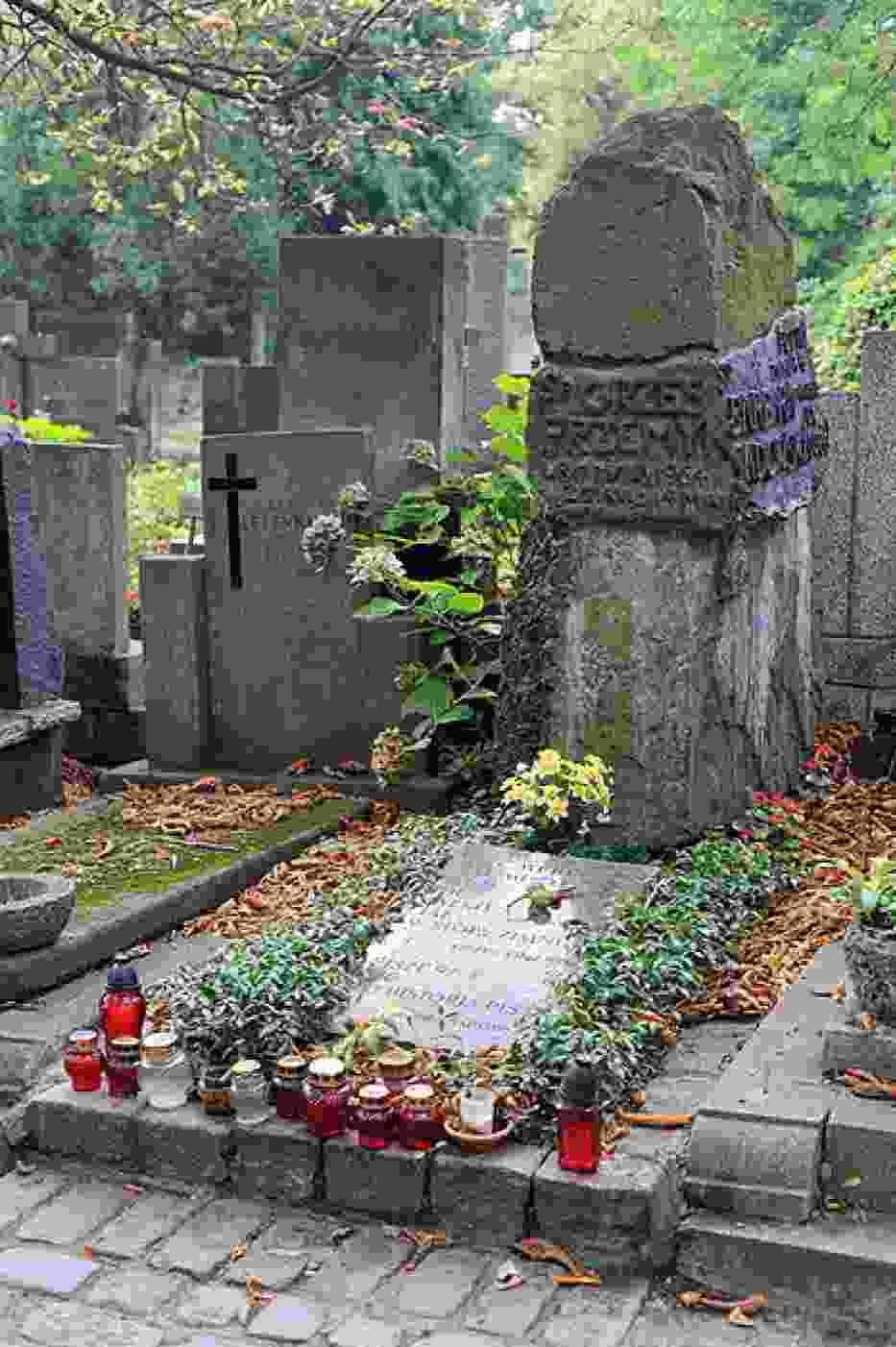 Grób Grzegorza Przemyka na Cmentarzu Powązkowskim w Warszawie