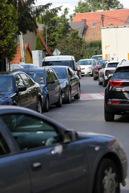 Korki na drogach skutecznie sparaliżowały północno-zachodnie dzielnice Krakowa