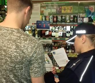 Policyjna akcja alkohol i papierosy