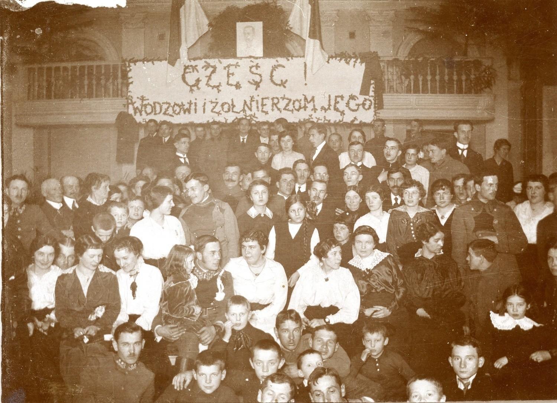 1916Wigilia legionistów w kieleckim hotelu Bristol