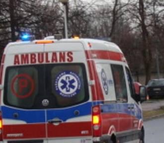 Poszkodowany w wypadku pod Olkuszem uciekał przed pogotowiem