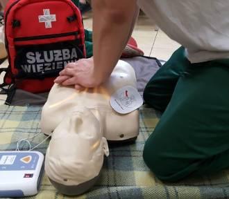 Aresztanci z Grójca szkolą się w udzielaniu pierwszej pomocy