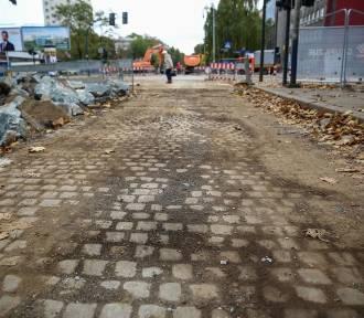 Kraków. Kostka z Królewskiej dla innych ulic