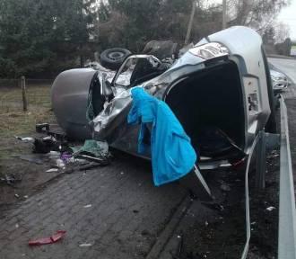 Mieszkańcy Kwidzyna zginęli w wypadku w Kwieciszewie [ZDJĘCIA]