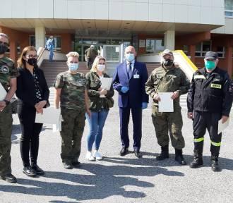 Szpital w Kaliszu podziękował wolontariuszom za wsparcie w czasie walki z pandemią koronawirusa.