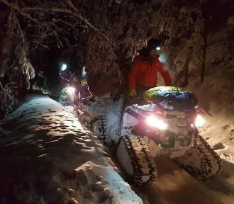 Goprowcy szukali turystów, którzy w nocy zabłądzili w Gorcach